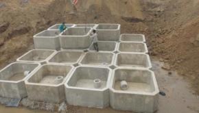 一体成形水泥化粪池